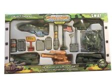 Force of Action 14 Piece Military Play set with Soldiers Item # 010-2072