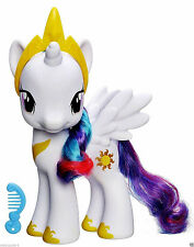 "HASBRO MY LITTLE PONY,8.25"" PRINCESS CELESTIA FIGURE,W/ COMB & CROWN ACCESSORIES"