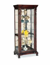 Coaster Curio Cabinet -Deep Brown 4715