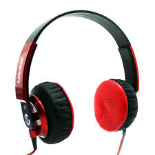 NEW LAXMAX HD Stereo Headphones in Red - SALE