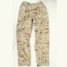 USMC Desert Marpat utilities used MCCUU Small Regular trousers pants cammies SR