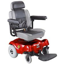 CTM HS-1000 Rear Wheel Drive Power Chair Red