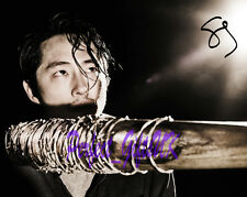Steven Yeun The Walking Dead S7 SIGNED AUTOGRAPHED 10X8 PRE-PRINT PHOTO