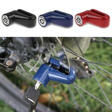 Security Motorcycle Cycling Bike Bicycle Rotor Safe Disc Brake Wheel Lock Keys
