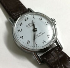 Reloj mujer DOGMA PRIMA 17 Rubis cuerda Original nuevo VINTAGE 90's 4862 blanco
