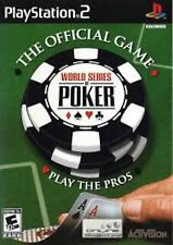 PS2 World Series Of Poker Video Game online multiplayer cards john phan wsop hot