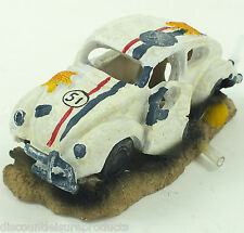 ACQUARIO VW Beetle Herbie tipo bolla Ornament Fish Tank Decorazione # 2833a1