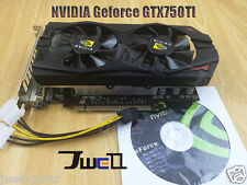 NEW NVIDIA GeForce GTX750TI 1GB DDR5 192Bit PCI-Express Video Graphics Card