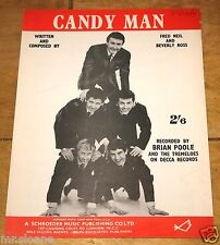 Brian Moore CANDY MAN UK Vintage canzone SPARTITI MUSICALI SHEET 1961