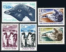 FSAT TAAF 89-93, MNH. Adelie Penguins, Sea Leopard, 1980