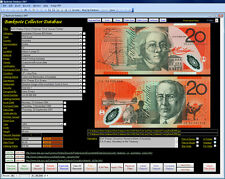 Banknote Note Image Database Software Pro CDROM suit Windows 7/8/10 XP Vista