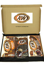 A & W Root Beer Huge American Candy Selection Gift Box - The Perfect Gift