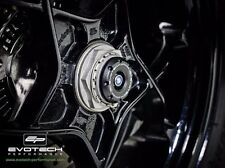 KTM 1290 Superduke & GT Rear Wheel Sliders in Black. Evotech Performance.