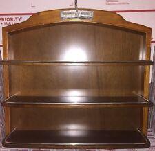 Franklin Mint Precision Models Wooden Display Shelf