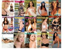 Penthouse and Playboy Collection 225 Magazine Digital Issues on 3 DVDs Sexy pets