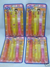 Lot 4x New Girl 2 Girl Trio Lipgloss Wands-Gift Idea-Total 12 Pieces