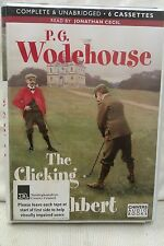 The Clicking of Cuthbert by P G Wodehouse: Unabridged Cassette Audiobook (GG2)