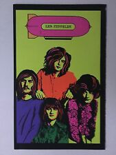 Blacklight Poster Pin-up Print Led Zeppelin & Scorpio Double Sided Prints