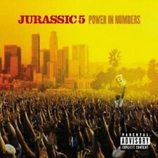 JURASSIC 5 - POWER IN NUMBERS  CD  17 TRACKS HIP HOP / RAP  NEU