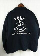 PUNK & DISORDERLY WORK JACKET - XL F*CK CORPORATE ROCK LTD. Red Kap Anarchy