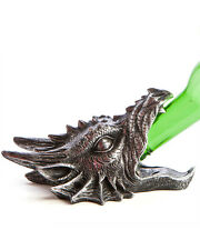 Wall Mounted Silver Dragon Head Bottle Opener Barware Kitchen Mythical