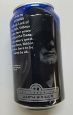 Pepsi  12 oz. Empty Can - Star Wars, Episode I, #8 Darth Sidious