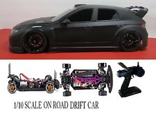 1/10 Scale Subaru Impreza WRX RTR Custom RC Drift Cars 4WD 2.4Ghz & Charger