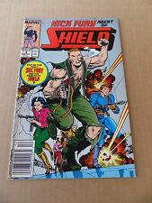 Nick Fury , Agent of S.H.I.E.L.D 4 . Marvel .1989 -  FN +