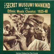 Vol. 3-Ethnic Music Classics - Secret Museum Of Mankind (1996, CD NEUF) 1925-48