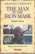 THE MAN IN THE IRON MASK Alexandre Dumas MUSKETEERS New BOOK GRAPHIC Classic