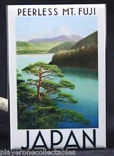 "Mt. Fuji / Japan Vintage Travel Poster 2"" X 3"" Fridge / Locker Magnet."