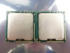 Pair of Intel Xeon X5680 CPUs SLBV5 LGA1366 6-Core 3.33GHz 12MB Cache 130W TDP