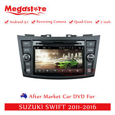 "7"" Car DVD GPS Navigation For SUZUKI SWIFT 2011-2016 Quad Core Android 5.1"