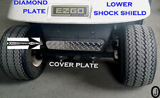 Ezgo TXT or marathon Golf Cart++Diamond Plate++Lower Shock Shield Cover Plate