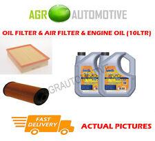 PETROL OIL AIR FILTER KIT + LL 5W30 OIL FOR BMW 535I 3.5 235 BHP 1995-98