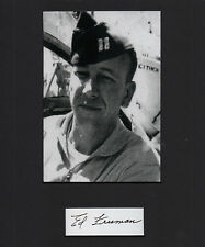 """We Were Soldiers Ed """"Too Tall"""" Freeman Vietnam SIGNED CUT Medal of Honor MOH"""