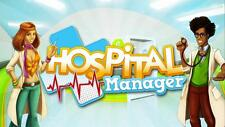 HOSPITAL MANAGER - Steam chiave key - Gioco PC Game - ITALIANO - ROW