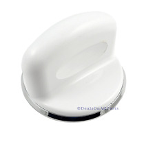 New Factory Original GE Hotpoint Washer White Control Knob and Clip WH01X10310
