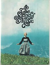 a SOUND OF MUSIC movie program: 1965 1st print:  free mail?