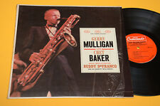 CHET BAKER GERRY MULLIGAN QUARTET LP TOP JAZZ ORIG USA CRESCENDO ! AUDIIOFILI EX