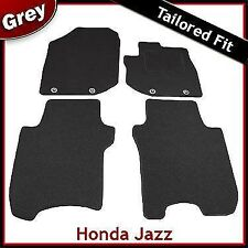 Honda Jazz Mk3 2008-2015 Tailored Fitted Carpet Car Floor Mats GREY