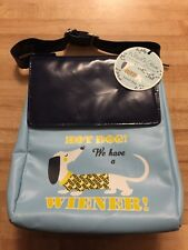 Kitsch *n Glam Dachshund Weiner Dog Lunch Bag