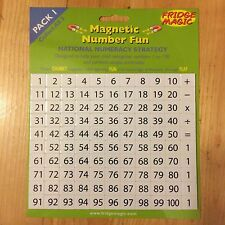 Magnetic Numbers 1-100 Pack 1 National Numeracy Strategy Fridge Magic Magnet m6