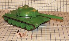 Cold War T-54 Shell Firing Metal Soviet Russian Army Tank with Shells Works VG