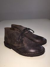 New JCREW Crewcuts Kids' oiled-leather MacAlister boots Classic Brown $118 Sz K1