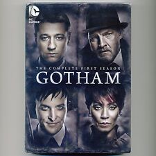 Gotham: Complete First Season 2014-15, new 6-DVD set James Gordon, Bruce Wayne