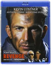 REVENGE (1990 Director's Cut) Kevin Costner -  Blu Ray - Sealed Region Free