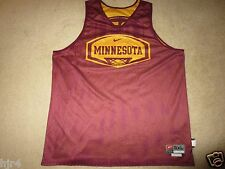 Minnesota Golden Gophers Nike Basketball Practice Game Worn Jersey 3XL