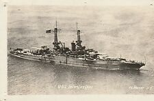 USS MISSISSIPPI © N. MOSER, N.Y-RPPC-CIRCA 1920's DB REAL PHOTO MILITARY