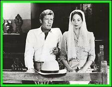 "BARBARA KELLERMAN & ROGER MOORE in ""The Sea Wolves"" Original Vintage 1980"